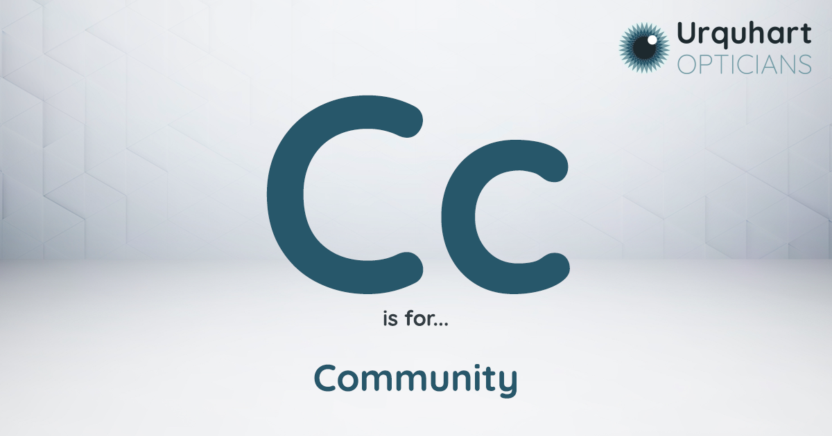 C is for Community
