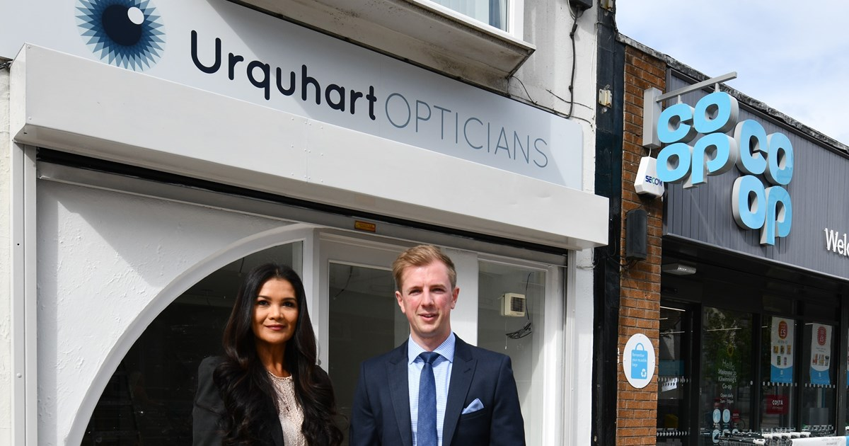 Ayrshire Optometry Group Expands with Six Figure Town Centre Investment