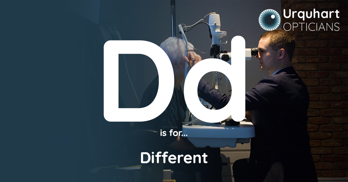 D is for Different