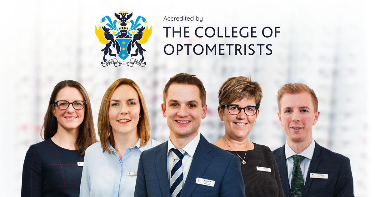 Ayrshire Opticians Set Sights on Being Scotland's Most Qualified Independent Group